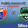 Ver Atlante vs Cafetaleros de Tapachula en Vivo – Ascenso MX en su Torneo de Clausura 2019