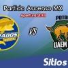 Ver Dorados de Sinaloa vs Potros UAEM en Vivo – Ascenso MX en su Torneo de Apertura 2018