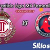 Ver Toluca vs Veracruz en Vivo – Liga MX Femenil – Clausura 2019 – Lunes 18 de Febrero del 2019