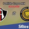 Atlas vs Leones Negros en Vivo – Copa MX – Martes 22 de Enero del 2019