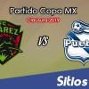 FC Juarez vs Puebla en Vivo – Copa MX – Miércoles 20 de Febrero del 2019