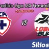 Ver Cruz Azul vs Lobos BUAP en Vivo – Liga MX Femenil – Viernes 21 de Septiembre del 2018