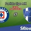 Ver Cruz Azul vs Monterrey en Vivo – Partido de Vuelta – Semifinales – Apertura 2018 de la Liga MX