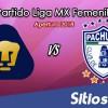 Ver Pumas vs Pachuca en Vivo – Liga MX Femenil – Sábado 13 de Octubre del 2018