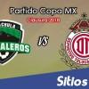 Cafetaleros de Tapachula vs Toluca en Vivo – Copa MX – Miércoles 14 de Marzo del 2018