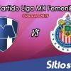 Ver Monterrey vs Chivas en Vivo – Liga MX Femenil – Clausura 2019 – Jueves 24 de Enero del 2019