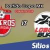 Mineros de Zacatecas vs Lobos BUAP en Vivo – Copa MX – Miércoles 6 de Febrero del 2019