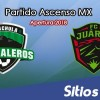 Ver Cafetaleros de Tapachula vs FC Juarez en Vivo – Ascenso MX en su Torneo de Apertura 2018