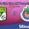 Ver León vs Chivas en Vivo – Liga MX Femenil – Lunes 17 de Septiembre del 2018