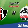 Ver Atlas vs Lobos BUAP en Vivo – Clausura 2019 de la Liga MX
