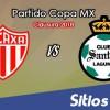 Necaxa vs Santos en Vivo – Copa MX – Miércoles 4 de Abril del 2018