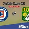 Cruz Azul vs León en Vivo – Copa MX – Miércoles 16 de Enero del 2019