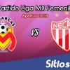 Ver Monarcas Morelia vs Necaxa en Vivo – Liga MX Femenil – Lunes 15 de Octubre del 2018
