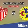 Necaxa vs América en Vivo – Copa MX – Martes 15 de Enero del 2019