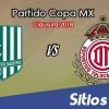 Atlético Zacatepec vs Toluca en Vivo – Copa MX – Miércoles 4 de Abril del 2018