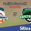 Cimarrones de Sonora vs Cafetaleros de Tapachula en Vivo – Copa MX – Miércoles 6 de Febrero del 2019