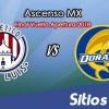 Ver Atlético San Luis vs Dorados de Sinaloa en Vivo – Partido de Vuelta – Gran Final – Ascenso MX en su Torneo de Apertura 2018