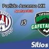 Ver Atlético San Luis vs Cafetaleros de Tapachula en Vivo – Ascenso MX en su Torneo de Apertura 2018