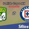 León vs Cruz Azul en Vivo – Copa MX – Miércoles 6 de Febrero del 2019