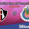 Atlas vs Chivas en Vivo – Liga MX Femenil – Sábado 21 de Julio del 2018