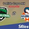 Cafetaleros de Tapachula vs Cimarrones de Sonora en Vivo – Copa MX – Martes 22 de Enero del 2019