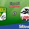 Ver León vs Lobos BUAP en Vivo – Apertura 2018 de la Liga MX