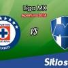 Ver Cruz Azul vs Monterrey en Vivo – Apertura 2018 de la Liga MX