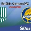 Ver Atlético Zacatepec vs Dorados de Sinaloa en Vivo – Ascenso MX en su Torneo de Apertura 2018