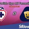 Ver Cruz Azul vs Pumas en Vivo – Liga MX Femenil – Clausura 2019 – Viernes 15 de Febrero del 2019