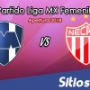 Monterrey vs Necaxa en Vivo – Liga MX Femenil – Domingo 22 de Julio del 2018