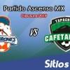Ver Cimarrones de Sonora vs Cafetaleros de Tapachula en Vivo – Ascenso MX en su Torneo de Clausura 2019