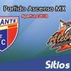 Ver Atlante vs Alebrijes de Oaxaca en Vivo – Ascenso MX en su Torneo de Apertura 2018