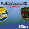 Ver Dorados de Sinaloa vs FC Juarez en Vivo – Ida Semifinales – Ascenso MX en su Torneo de Apertura 2018