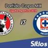 Xolos Tijuana vs Cruz Azul en Vivo – Liguilla Copa MX – Octavos de Final – Martes 25 de Septiembre del 2018