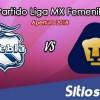 Ver Puebla vs Pumas en Vivo – Liga MX Femenil – Domingo 18 de Noviembre del 2018