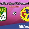 Ver León vs América en Vivo – Ida Cuartos de Final – Liga MX Femenil – Clausura 2019 – Jueves 25 de Abril del 2019