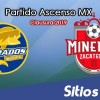 Ver Dorados de Sinaloa vs Mineros de Zacatecas en Vivo – Semifinal Ida – Ascenso MX en su Torneo de Clausura 2019