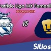 Ver Puebla vs Pumas en Vivo – Liga MX Femenil – Clausura 2019 – Domingo 21 de Abril del 2019