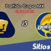 Pumas vs Dorados de Sinaloa en Vivo – Cuartos de Final – Copa MX – Martes 12 de Marzo del 2019