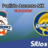 Ver Cimarrones de Sonora vs Dorados de Sinaloa en Vivo – Partido de Vuelta – Cuartos de Final – Ascenso MX en su Torneo de Clausura 2019