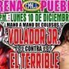 Lucha Libre CMLL desde la Arena Puebla en Vivo – Lunes 10 de Diciembre del 2018