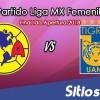 Ver América vs Tigres en Vivo – Final Ida – Liga MX Femenil – Martes 11 de Diciembre del 2018