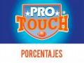 Porcentajes ProTouch del concurso 762 – Partidos del Sábado 31 de Octubre al Lunes 2 de Noviembre del 2020