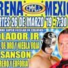 Lucha Libre CMLL de Nuevos Valores en Vivo – Martes 26 de Marzo del 2019