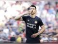 Hirving Lozano se despide del PSV