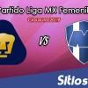 Ver Pumas vs Monterrey en Vivo – Liga MX Femenil – Ida Cuartos de Final – Clausura 2019 – Miércoles 24 de Abril del 2019