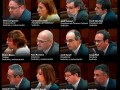 Sentencia a los acusados del independentismo catalán