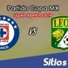 Cruz Azul vs León en Vivo – Copa MX – Miércoles 24 de Octubre del 2018