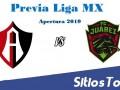 Previa Atlas vs FC Juárez – J1 – Apertura 2019