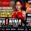 """Esmeralda """"La Joya"""" Moreno vs Yesenia """"La Niña"""" Gómez en Vivo – Box – Sábado 22 de Septiembre del 2018"""
